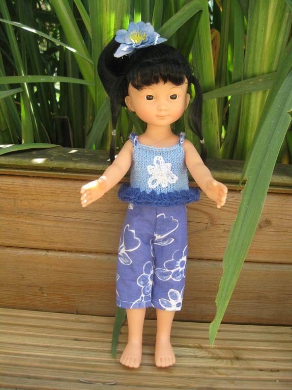 """Une petite robe vite faite .... pour """"chéries-paola"""" ..."""