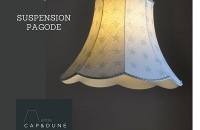 SUSPENSION PAGODE