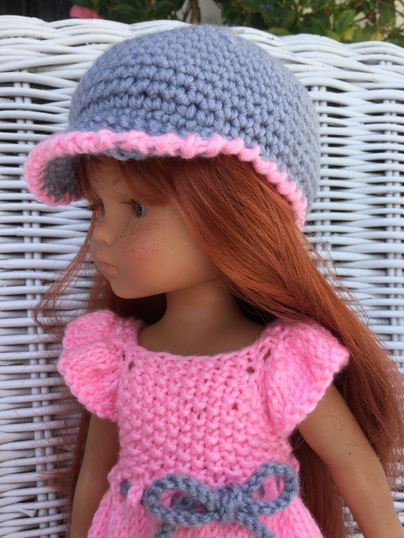 La combi rose pour poupée chéries de corolle.