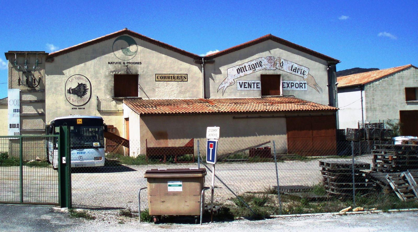 Cave coopérative de Ribaute (Aude)