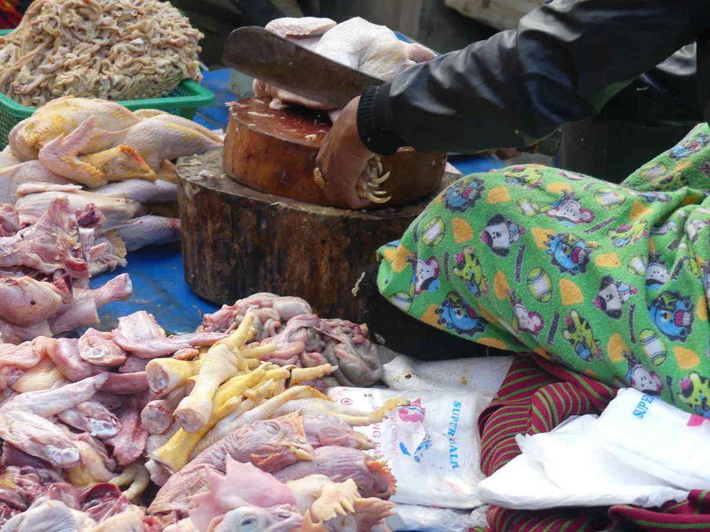 Le marché extérieur de Kalaw