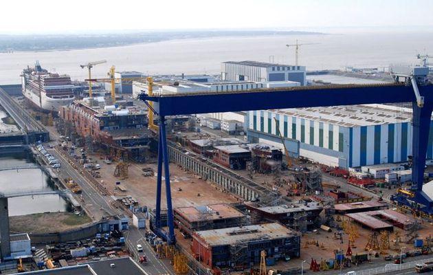 Les Coréens lâchent le chantier STX de Saint Nazaire (44)