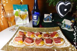 Toasts jambon & boursin