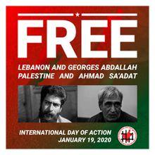 Liberté par Georges Abdallah, liberté pour Ahmad Sa'adat