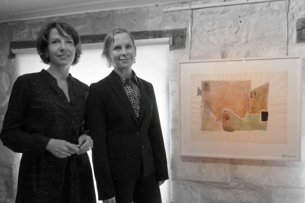 Sur la première photo on reconnait Fanny Hervé en compagnie de Claudia Peppel.