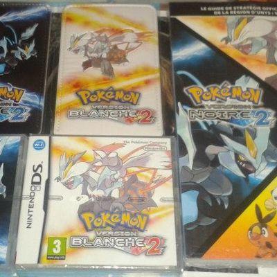Sortie de Pokémon version noire et blanche 2 (edit: explications PokéRAdar)
