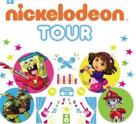 Le Nickelodeon Tour dès le 18 février dans les stations de ski.