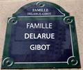 Les ancêtre de la famille DELARUE-GIBOT