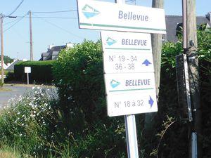 Belle Vue, commune de  Plessala et Bellevue à Saint-Carreuc.