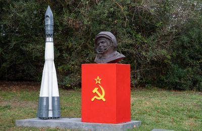 Inauguration d'un monument dédié à Youri Gagarine au Portugal