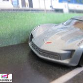09 CORVETTE STINGRAY CONCEPT HOT WHEELS 1/64 - car-collector.net