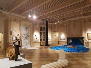 """Vues de l'exposition """"Risque d'exposition"""" Dupré et Dupré Gallery juillet 2020"""