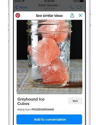 Web : Pinterest lance une extension de Chat et un Bot pour Messenger
