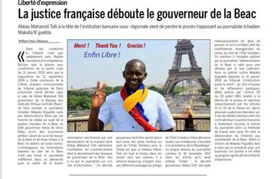 Cameroun: la justice française déboute le gouverneur de la BEAC