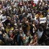 Mali- Bamako : Des milliers de manifestants pour appuyer la junte militaire : « A bas la France »