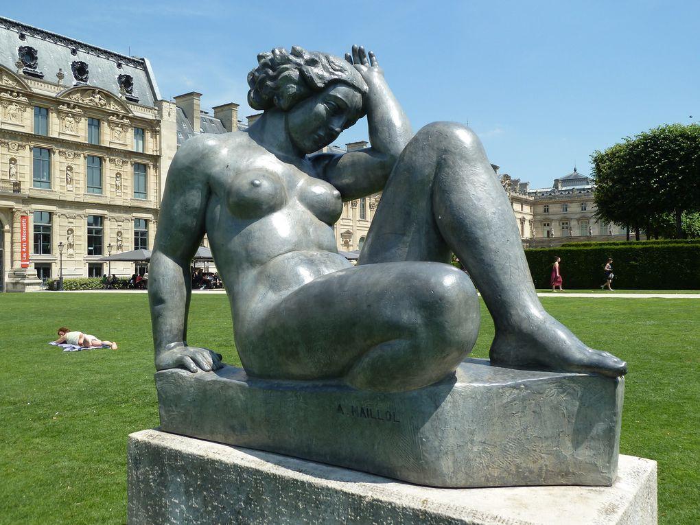 Maillol au Jardin du Luxembourg.