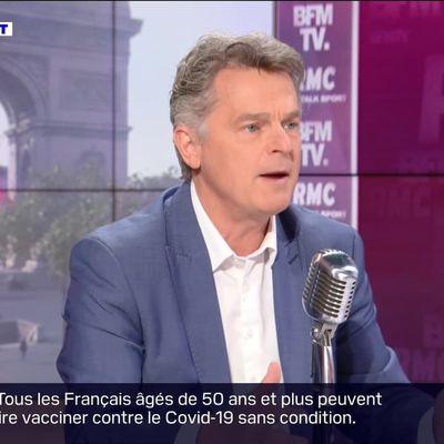 Fabien Roussel face à Jean-Jacques Bourdin en direct - 11/05