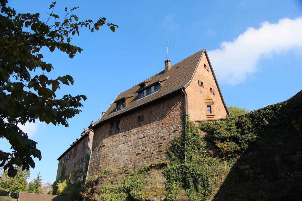 Le château du Hunebourg et sa grotte d'amour