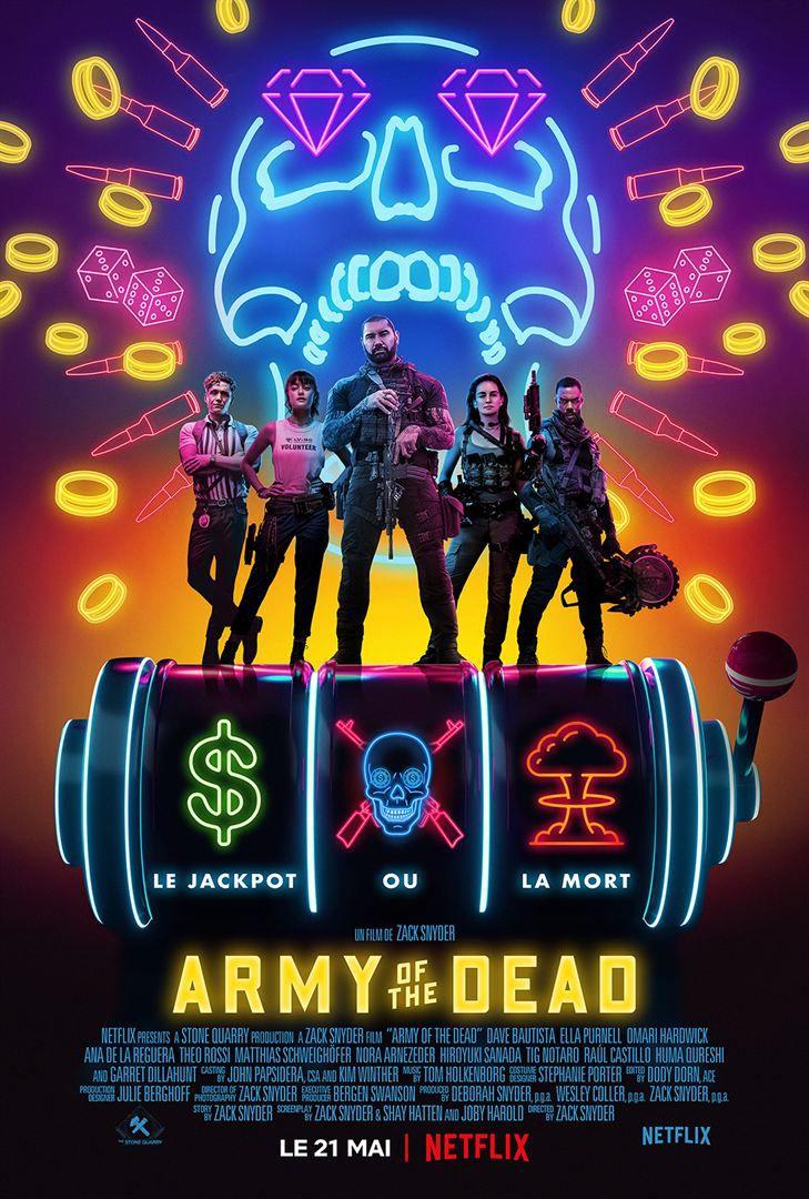 Critique Ciné : Army of the Dead (2021, Netflix)