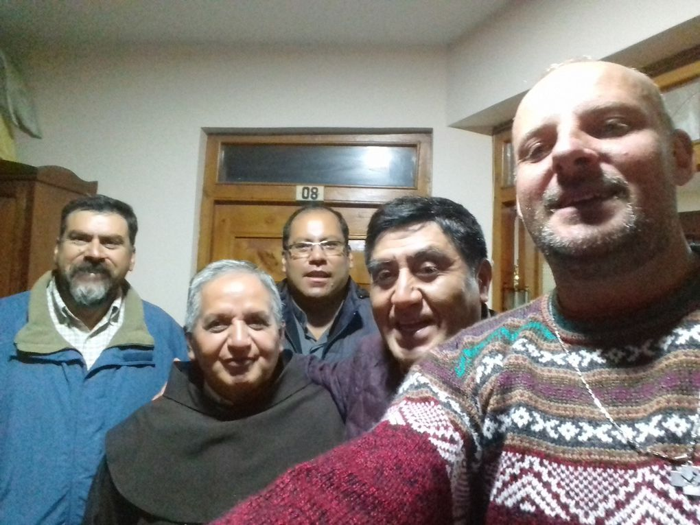Franciscan community in Huaraz and Our Lady of the angels in Lima