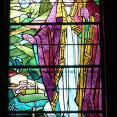 Bouxières-aux-Chênes : les vitraux de Jacques Gruber - Amance en Lorraine