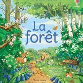 La forêt. Usborne - 2021 (Dès 4 ans) - VIVRELIVRE