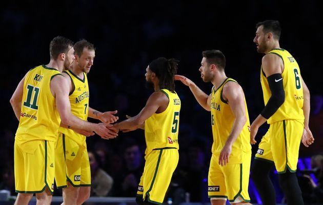 L'Australie fait tomber les Etats-Unis avec ses joueurs NBA, une première depuis la défaite de 2006