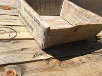 Restauration d'une boîte en bois chinée