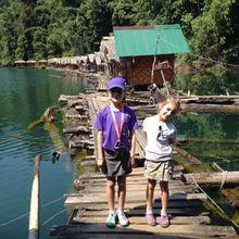 Journée au lac Chiaw Lan