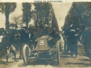 numéro 3, vous êtes Louis Renault et arriverez le premier à Bordeaux ...