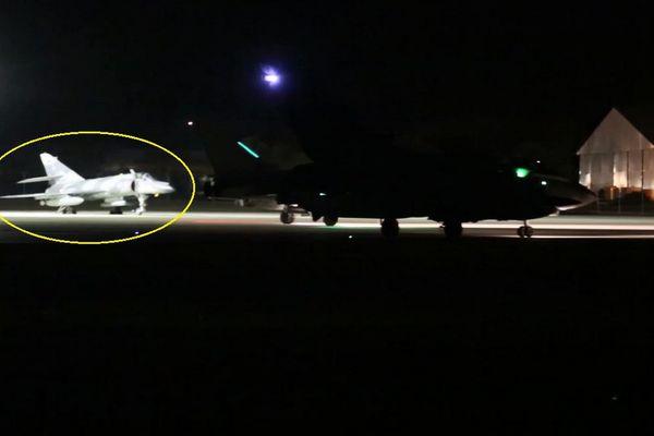 Des Super-Etendard Modernisés se sont posés sur la base aérienne d'Akrotiri