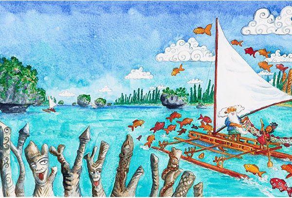 Un fabuleux voyage en Nouvelle Calédonie, celui de Yana en français et en anglais de Stéphane Moysan