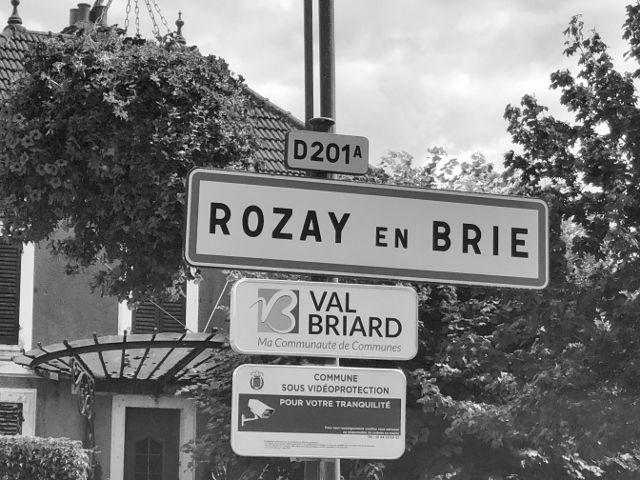 Rosay en Brie Black & White