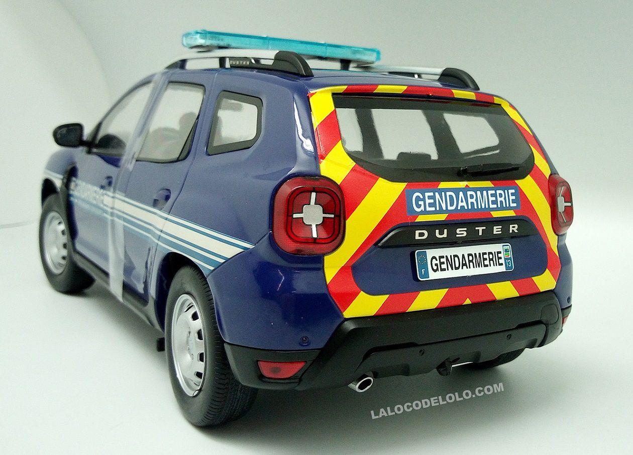 Dacia Duster Gendarmerie et pompiers au 1/18 (Solido)