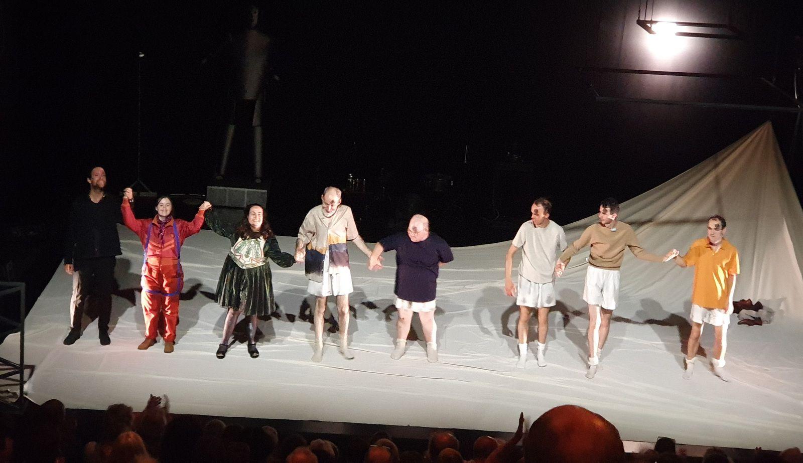 Gulliver, le dernier voyage, festival In d'Avignon - troupe Catalyse