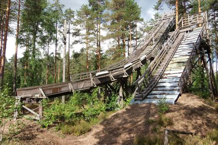 Finlande : Jump on the trees top