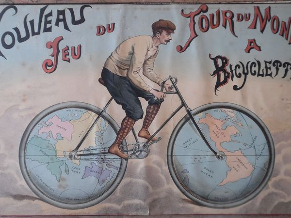 jeu du Tour du Monde à Bicyclette