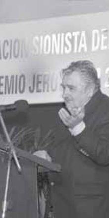 Uruguay: A CINCO DÍAS DE SER PREMIADO POR LOS SIONISTAS MUJICA RECIBIÓ A LA GUSANERA CUBANA