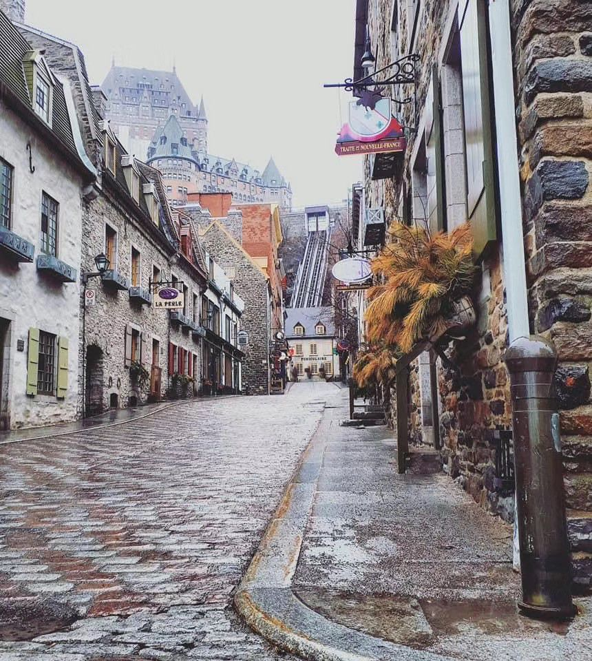 Quebec City at the time of the Coronavirus - Simon Bussières Photographe