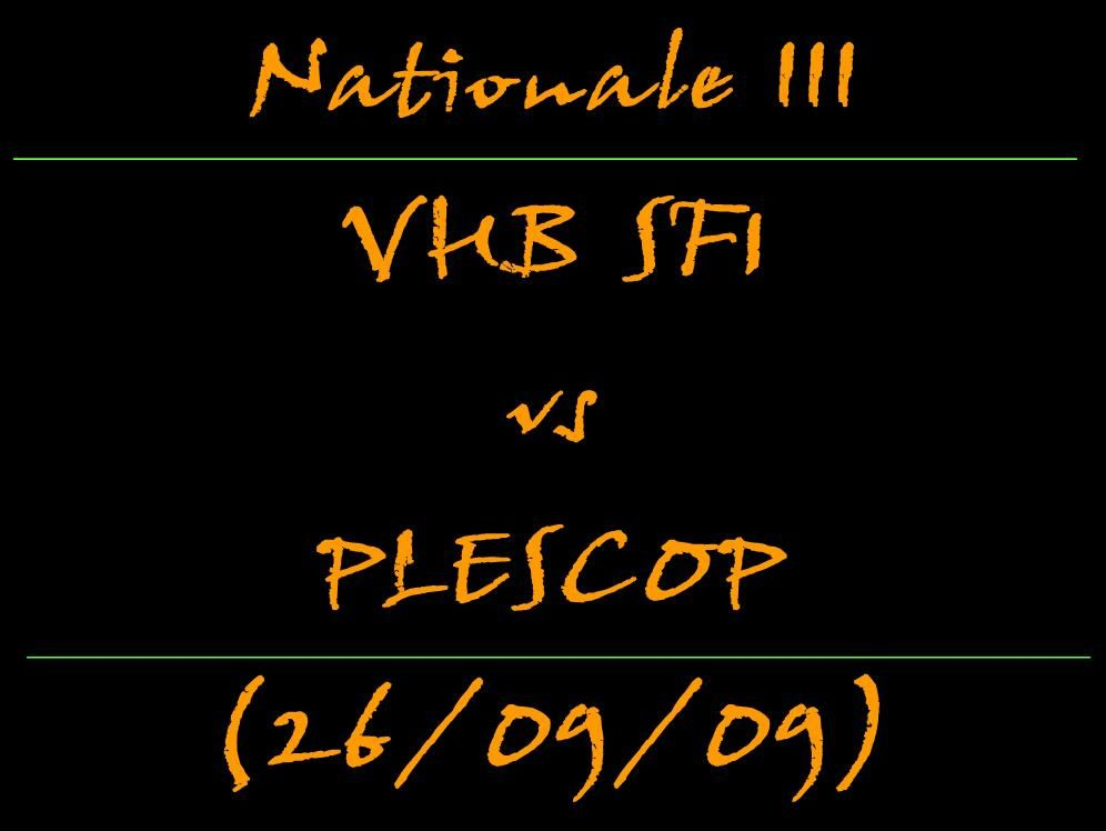 SF1 vs PLESCOP : 28-21