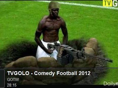 Le bêtisier hilarant du football 2012 (par TVGolo)