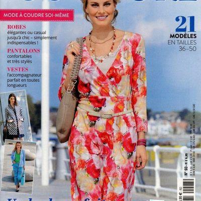 Magazines de mai 2021: Elena couture