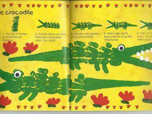 Crocodile au doigt!