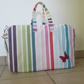 Sac Week-End - Laine-et-Chiffons