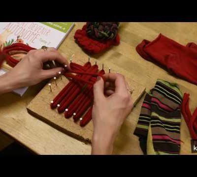 Réaliser un tawashi, éponge zéro-déchet venue du Japon