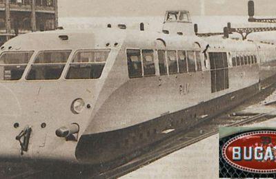 L'autorail Bugatti ou le lévrier sur rails.