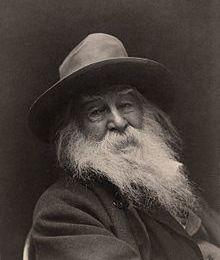 Mardis-Poésie : Lyrisme : ''Je'' autobiographique, sociétal, ''natural'' (3) Une référence en Amérique au XIXe cf Lien avec l'obvil sur  Walt Whitmann vu par Oscar Wilde(1890)