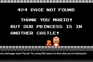 Personnaliser sa page d'erreur 404