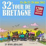 TOUR DE BRETAGNE AUTOMOBILES ANCIENNES 2012