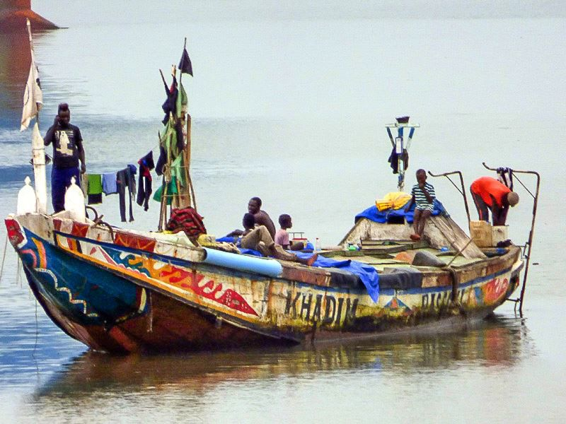 Pirogues Conakry